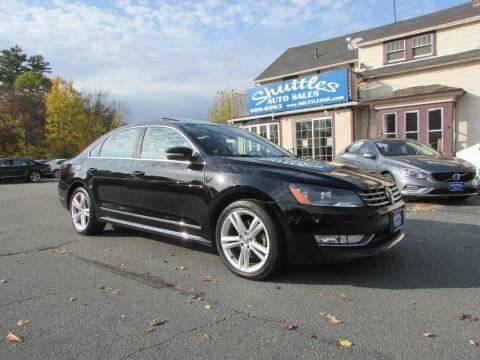 2014 Volkswagen Passat for sale at Shuttles Auto Sales LLC in Hooksett NH