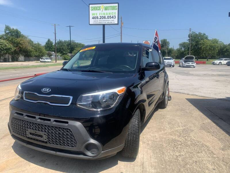 2016 Kia Soul for sale at Shock Motors in Garland TX