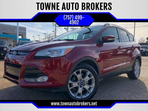 2014 Ford Escape for sale at TOWNE AUTO BROKERS in Virginia Beach VA
