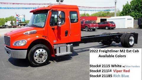 2022 Freightliner M2 Extended Cab for sale at Ricks Auto Sales, Inc. in Kenton OH