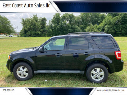 2010 Ford Escape for sale at East Coast Auto Sales llc in Virginia Beach VA