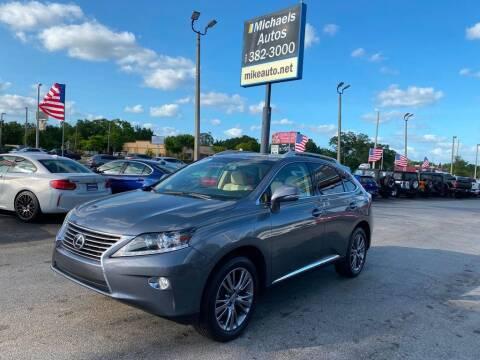 2014 Lexus RX 350 for sale at Michaels Autos in Orlando FL