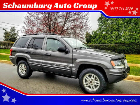 2004 Jeep Grand Cherokee for sale at Schaumburg Auto Group in Schaumburg IL