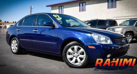 2007 Kia Optima for sale at Rahimi Automotive Group in Yuma AZ