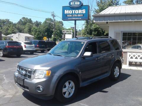 2011 Ford Escape for sale at Route 106 Motors in East Bridgewater MA