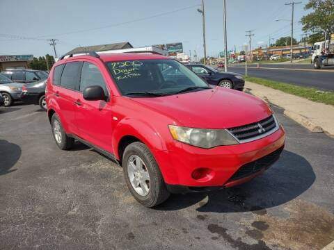 2007 Mitsubishi Outlander for sale at Flag Motors in Columbus OH