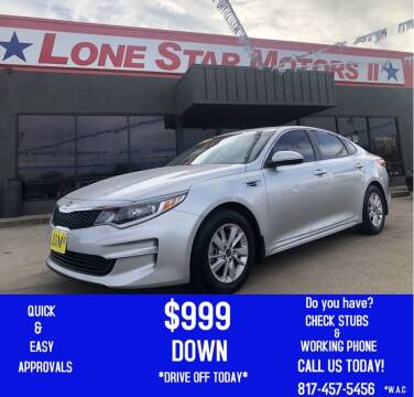 2017 Kia Optima for sale at LONE STAR MOTORS II in Fort Worth TX