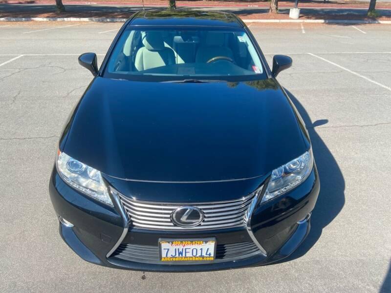 2015 Lexus ES 350 for sale at ALL CREDIT AUTO SALES in San Jose CA