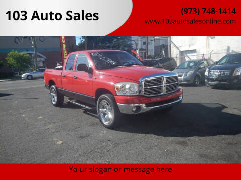 2008 Dodge Ram Pickup 1500 for sale at 103 Auto Sales in Bloomfield NJ
