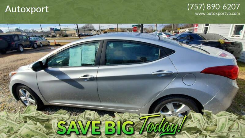 2012 Hyundai Elantra for sale at Autoxport in Newport News VA