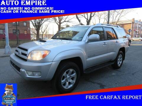 2004 Toyota 4Runner for sale at Auto Empire in Brooklyn NY