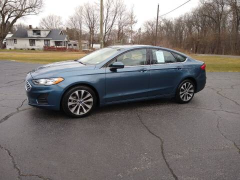 2019 Ford Fusion for sale at Depue Auto Sales Inc in Paw Paw MI