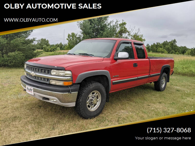 2000 Chevrolet Silverado 2500 for sale at OLBY AUTOMOTIVE SALES in Frederic WI