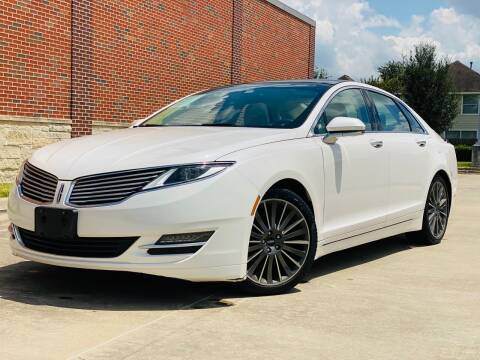 2014 Lincoln MKZ for sale at AUTO DIRECT in Houston TX