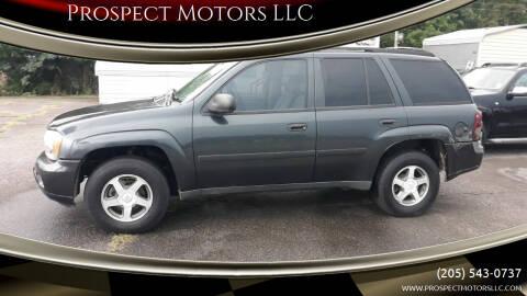 2006 Chevrolet TrailBlazer for sale at Prospect Motors LLC in Adamsville AL