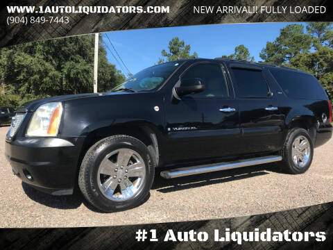 2007 GMC Yukon XL for sale at #1 Auto Liquidators in Yulee FL