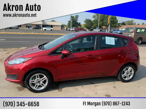 2017 Ford Fiesta for sale at Akron Auto - Fort Morgan in Fort Morgan CO