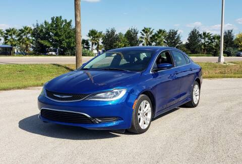 2015 Chrysler 200 for sale at FLORIDA USED CARS INC in Fort Myers FL