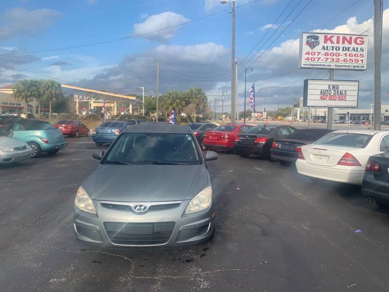 2010 Hyundai Elantra Touring for sale at King Auto Deals in Longwood FL