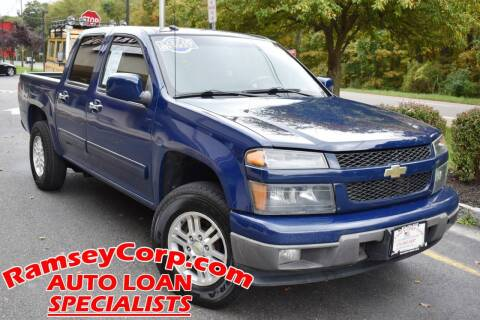 2011 Chevrolet Colorado for sale at Ramsey Corp. in West Milford NJ