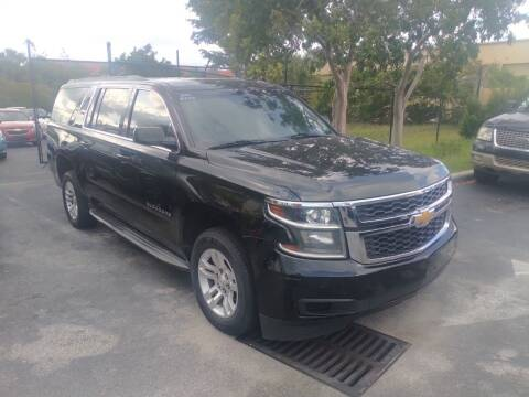 2015 Chevrolet Suburban for sale at LAND & SEA BROKERS INC in Pompano Beach FL