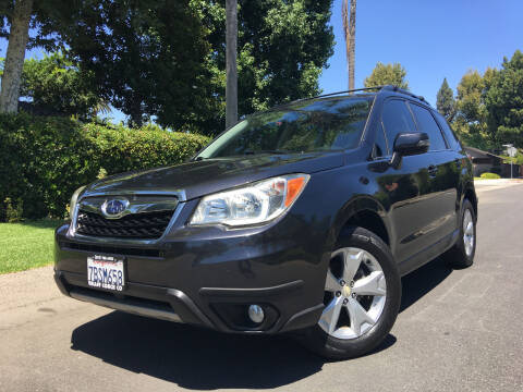 2014 Subaru Forester for sale at Valley Coach Co Sales & Lsng in Van Nuys CA