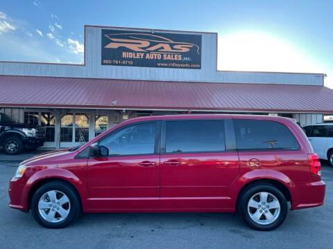 2013 Dodge Grand Caravan for sale at Ridley Auto Sales, Inc. in White Pine TN