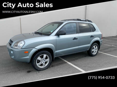 2006 Hyundai Tucson for sale at City Auto Sales in Sparks NV