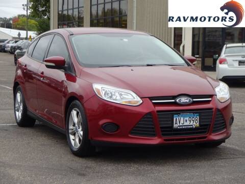 2013 Ford Focus for sale at RAVMOTORS 2 in Crystal MN
