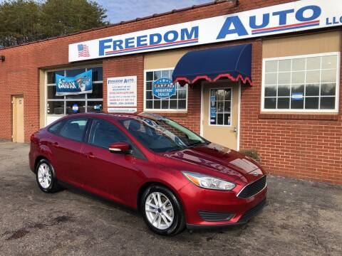 2016 Ford Focus for sale at FREEDOM AUTO LLC in Wilkesboro NC