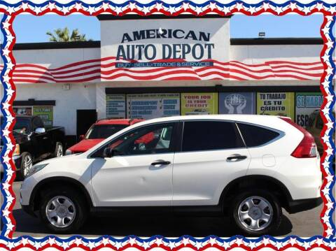 2015 Honda CR-V for sale at American Auto Depot in Modesto CA