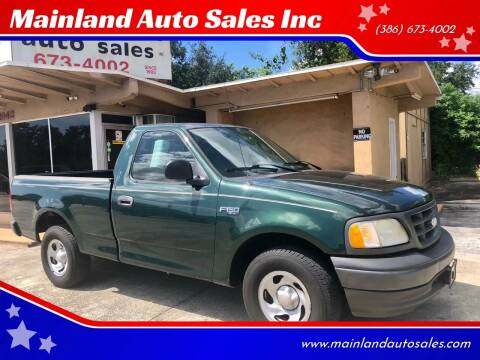 2003 Ford F-150 for sale at Mainland Auto Sales Inc in Daytona Beach FL