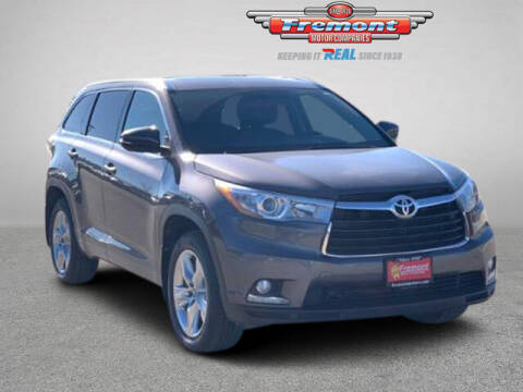 2016 Toyota Highlander for sale at Rocky Mountain Commercial Trucks in Casper WY