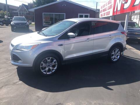 2013 Ford Escape for sale at N & J Auto Sales in Warsaw IN