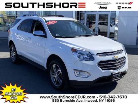 2016 Chevrolet Equinox for sale at South Shore Chrysler Dodge Jeep Ram in Inwood NY