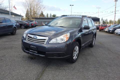 2010 Subaru Outback for sale at Leavitt Auto Sales and Used Car City in Everett WA