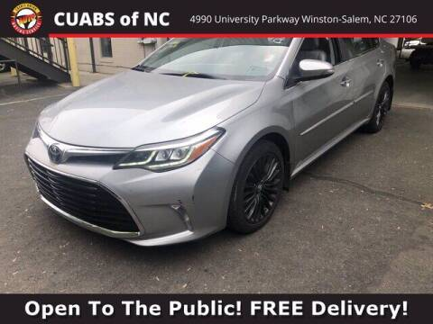 2018 Toyota Avalon for sale at Summit Credit Union Auto Buying Service in Winston Salem NC