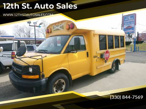 2008 Chevrolet Express Cutaway for sale at 12th St. Auto Sales in Canton OH