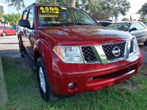 2005 Nissan Pathfinder for sale at AFFORDABLE AUTO SALES OF STUART in Stuart FL