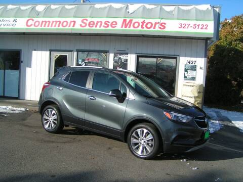 2018 Buick Encore for sale at Common Sense Motors in Spokane WA