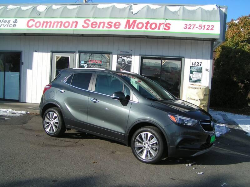 2018 Buick Encore for sale at Common Sense Motors in Spokane WA