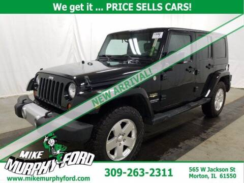 2010 Jeep Wrangler Unlimited for sale at Mike Murphy Ford in Morton IL
