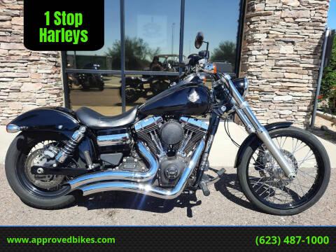2014 Harley-Davidson Dyna Wide Glide FXDWG-103 for sale at 1 Stop Harleys in Peoria AZ