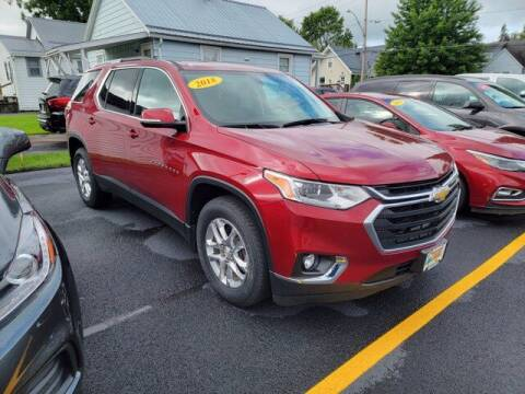 2018 Chevrolet Traverse for sale at Frenchie's Chevrolet and Selects in Massena NY