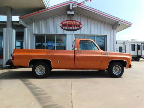 1973 Chevrolet C/K 10 Series for sale at Motorsports Unlimited in McAlester OK