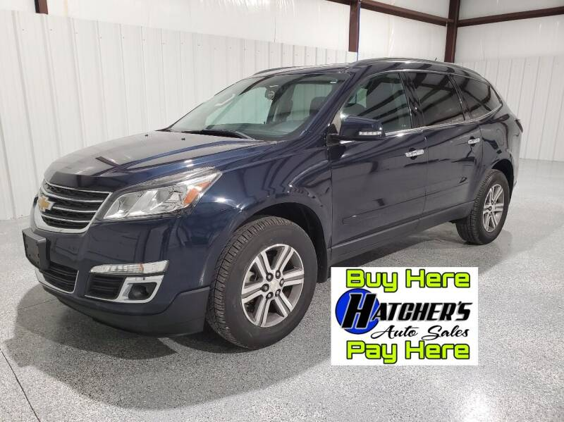 2017 Chevrolet Traverse for sale at Hatcher's Auto Sales, LLC - Buy Here Pay Here in Campbellsville KY