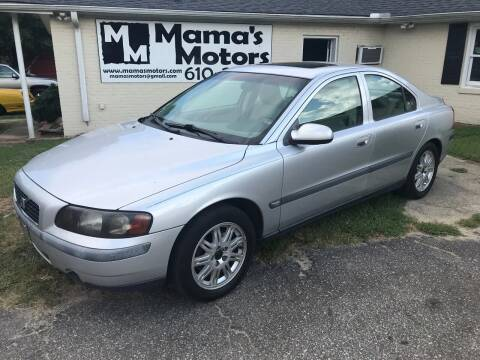2003 Volvo S60 for sale at Mama's Motors in Greer SC