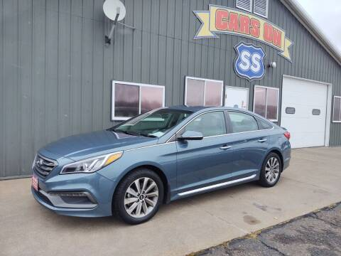2017 Hyundai Sonata for sale at CARS ON SS in Rice Lake WI