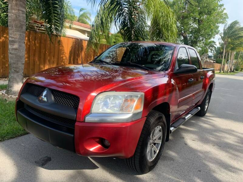 2007 Mitsubishi Raider for sale at FINANCIAL CLAIMS & SERVICING INC in Hollywood FL