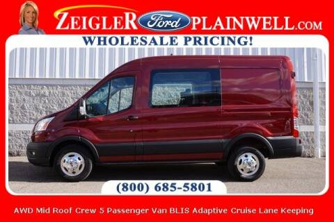 2020 Ford Transit Crew for sale at Zeigler Ford of Plainwell- michael davis in Plainwell MI